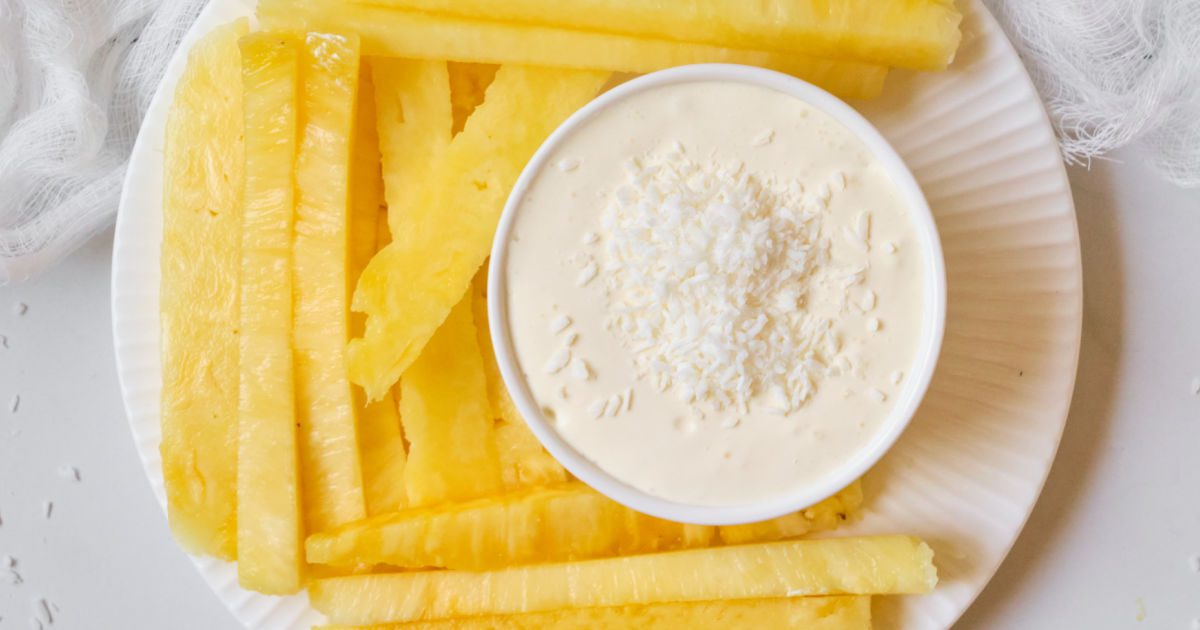 pineapple coconut dip