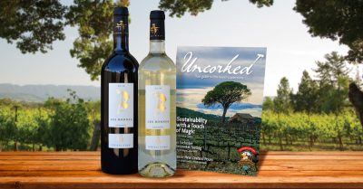 backyard wine tasting for two with california wine club